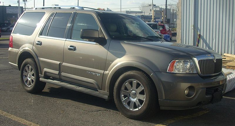 2004 Lincoln Navigator Collision Repair