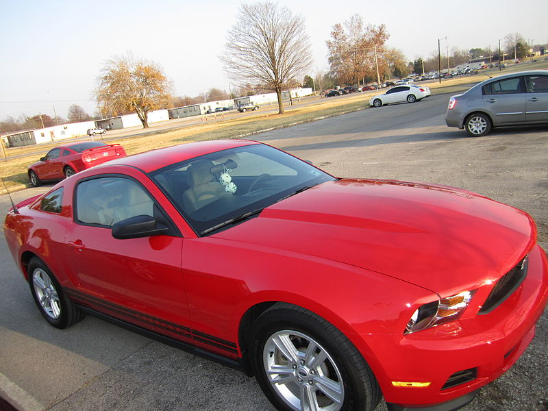 2012 Mustang Collision Repair and Paint