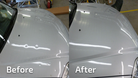 Hail Damage | Paintless Dent Repair